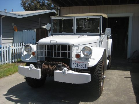 upgraded 1963 Dodge m37 Power wagon truck for sale