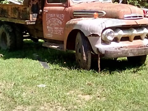 all original 1952 Ford dump truck for sale