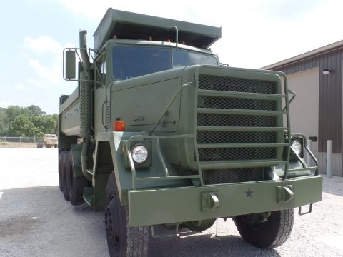 clean 1979 AM General M917 8×6 Military dump Truck for sale
