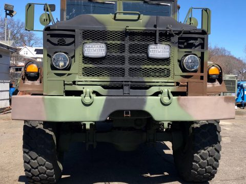clean 1990 BMY M931a2 6X6 Truck for sale