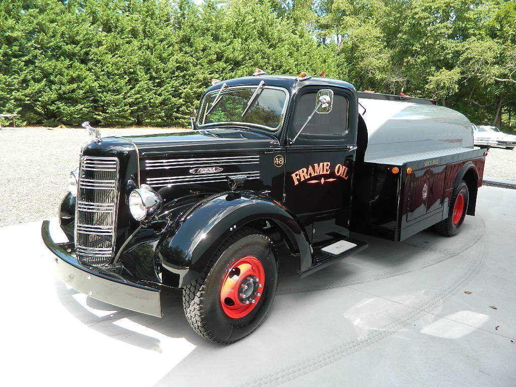custom 1948 Mack EF oil truck