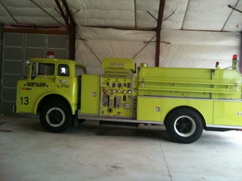 garaged 1976 Ford Fire truck for sale