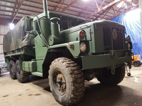 low mileage 1993 AM General M35 A3 2 1/2 Ton 6×6 truck for sale