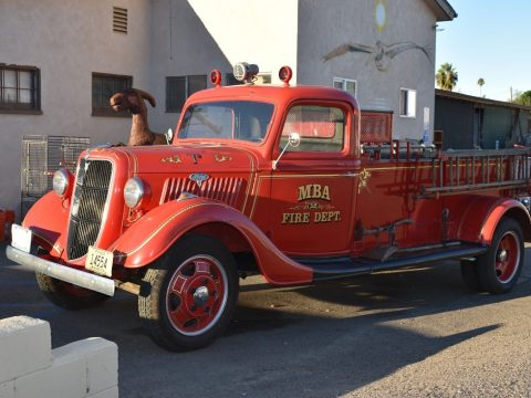 very nice 1935 Ford Fire Truck for sale