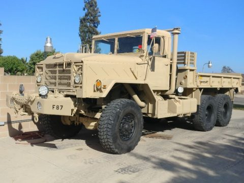 very reliable 1989 BMY 5 ton 6×6 M925A2 Military Truck for sale