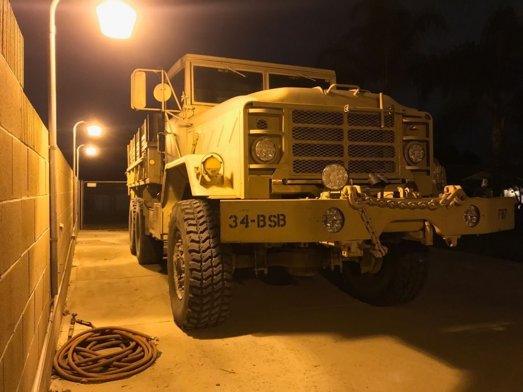 very reliable 1989 BMY 5 ton 6×6 M925A2 Military Truck