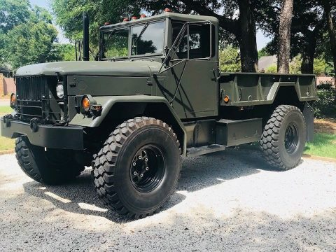 Bobbed 1985 AM General Deuce and a Half military truck for sale