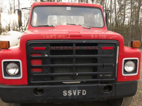 low miles 1980 International 2 ton Stake bed truck for sale