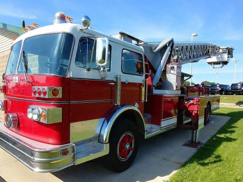 low miles 1980 Sutphen Ladder Fire Truck for sale