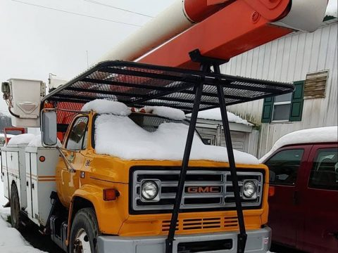 low miles 1984 GMC bucket truck for sale
