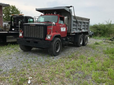 strong running 1985 GMC BRIGADIER DUMP Truck for sale