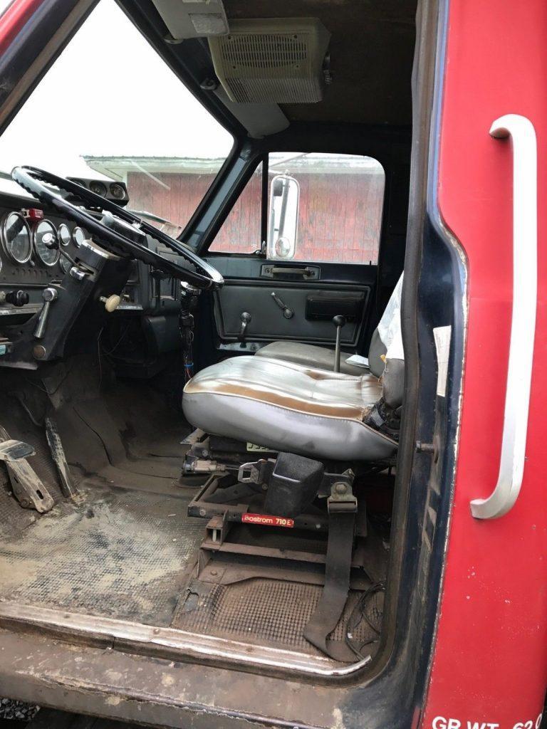 strong running 1985 GMC BRIGADIER DUMP Truck