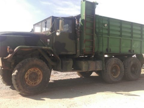 cattle feeder 1984 AM General M923A1 military truck for sale