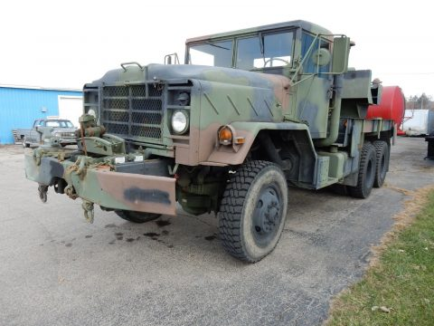Everything works 1984 AM General M936 5 Ton 6×6 Rotator/Wrecker truck for sale