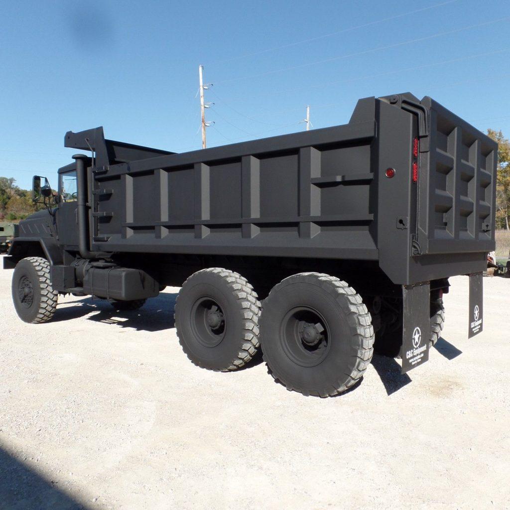 low miles 1990 BMY M934a2 dump Truck
