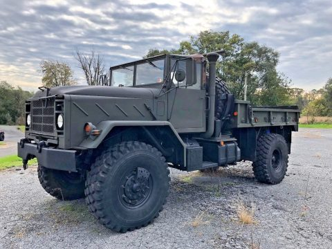 low miles 1991 BMY M931 A2 5 Ton Bobbed truck for sale
