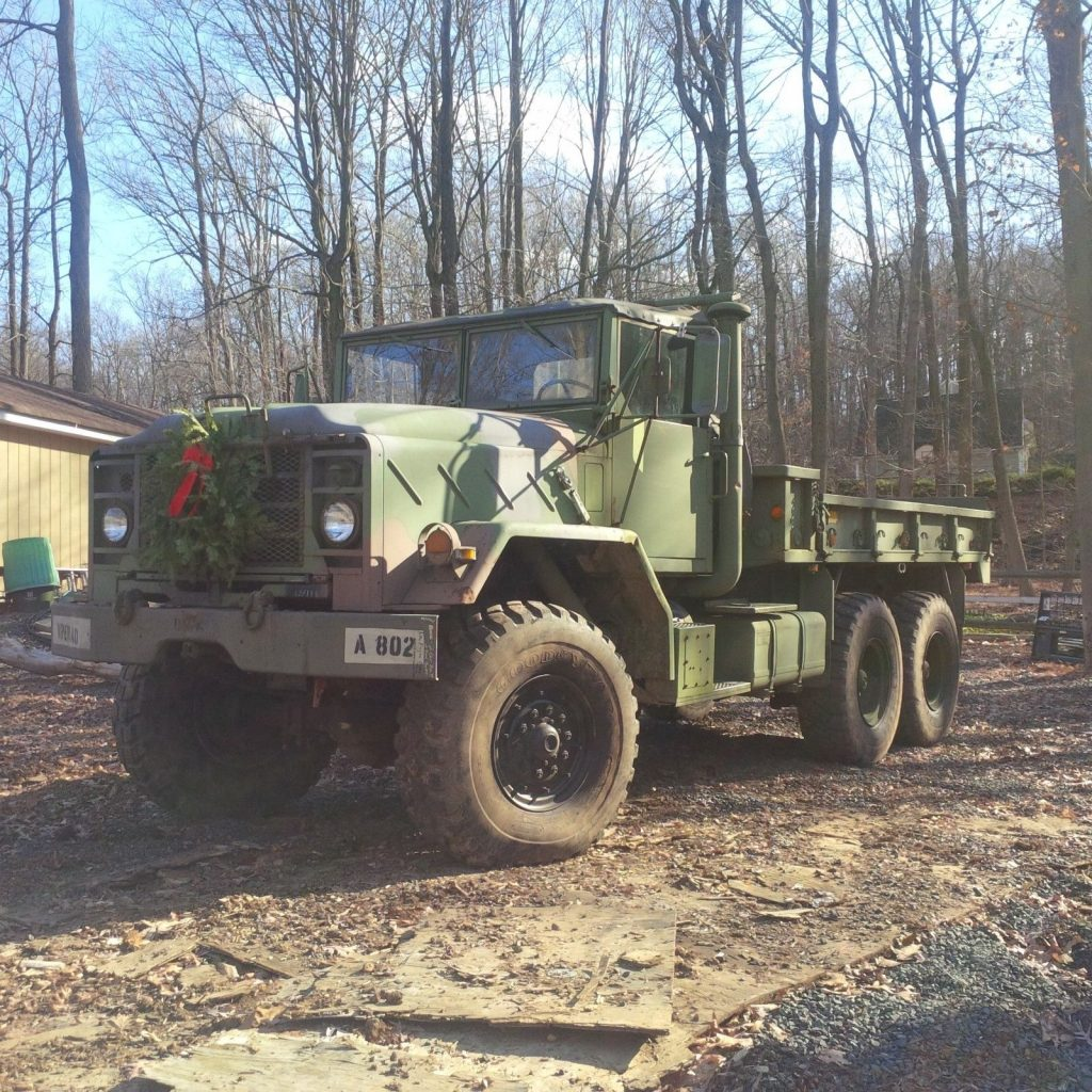 needs TLC 1987 AM General M923a1 6×6 truck