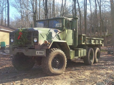 needs TLC 1987 AM General M923a1 6×6 truck for sale