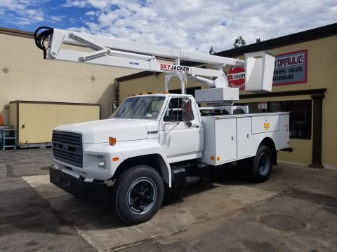 restored 1987 Ford F600 truck for sale