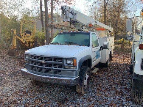 great shape 1994 Chevrolet C3500 bucket truck for sale