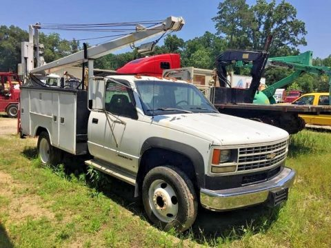 great solid 1993 Chevrolet C3500 Service Truck for sale