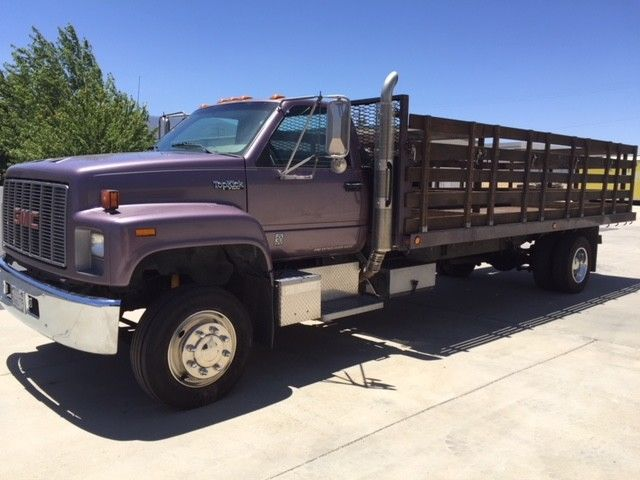 low mileage 1990 GMC Topkick truck