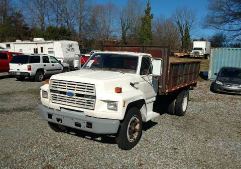 low mileage 1993 Ford F600 truck for sale