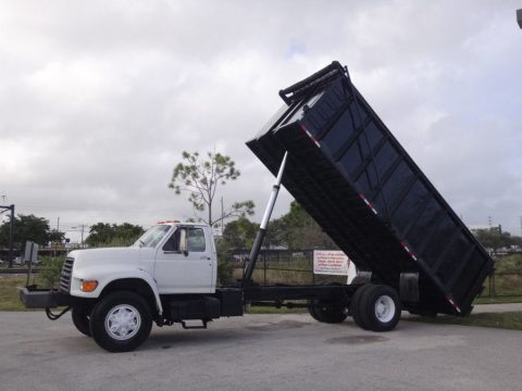 ready for work 1995 Ford F800 Dump Truck for sale