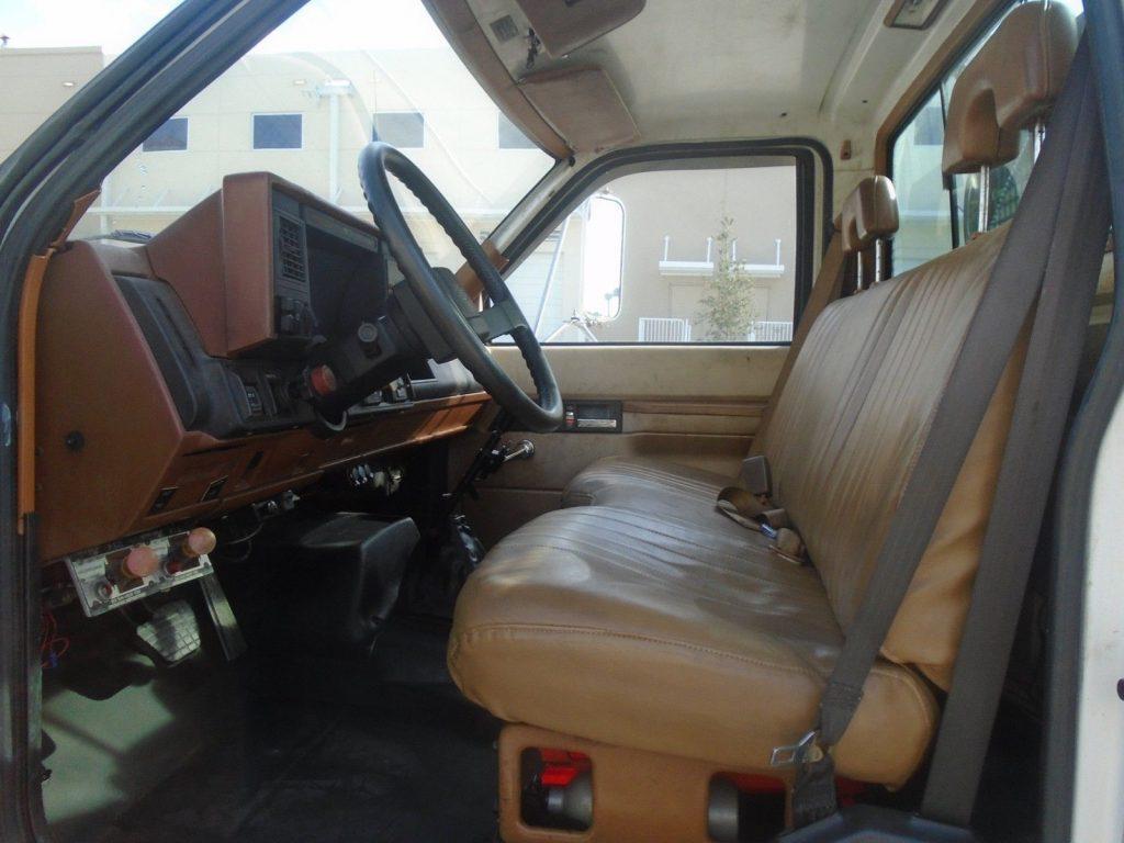 runs and drives 1994 Chevrolet KODIAK truck