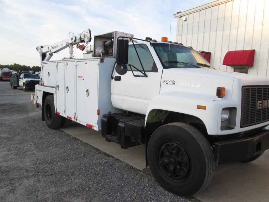 serviced 1994 GMC C7500 Service Truck