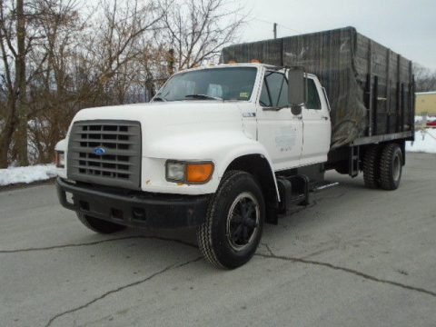 solid 1995 FORD F 650 Landscape DUMP TRUCK for sale