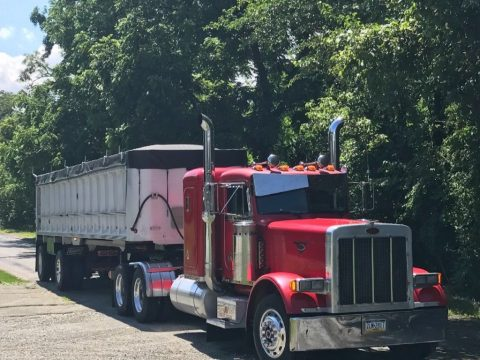 trailer combo 1992 Peterbilt 379 truck for sale