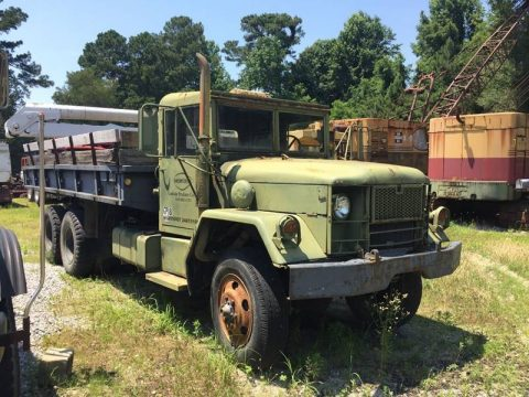 low miles 1973 AM General M36a2 Army Dump Truck 6×6 military for sale