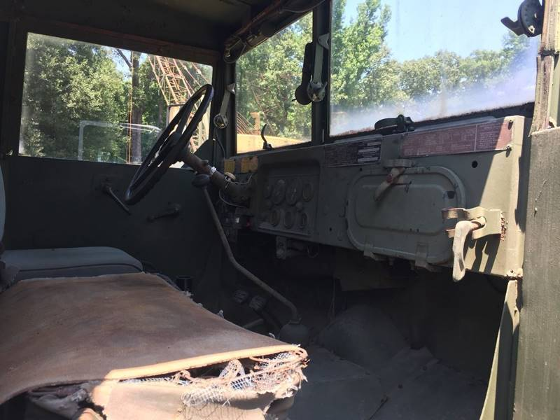 low miles 1973 AM General M36a2 Army Dump Truck 6×6 military