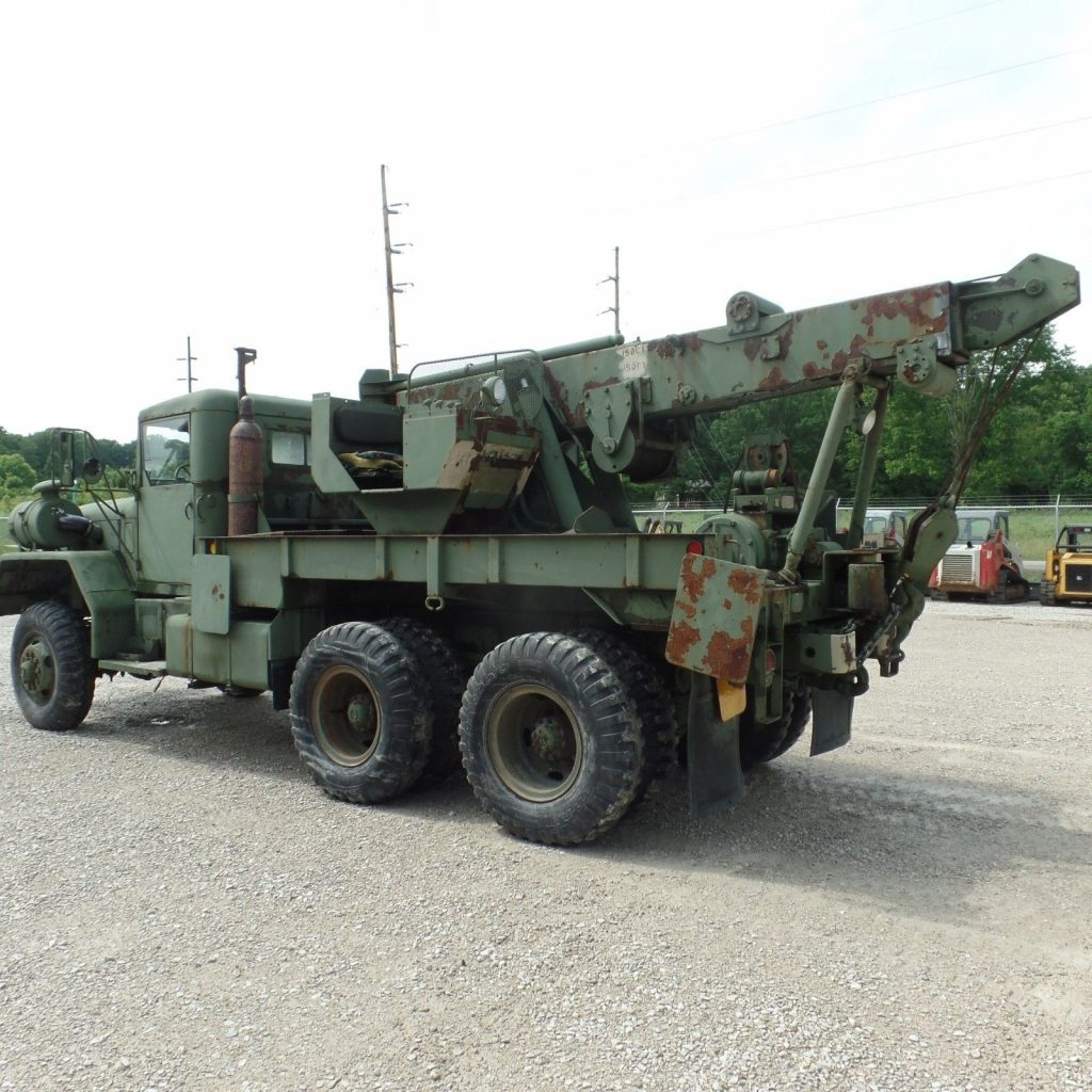 solid 1971 AM General M816 Military truck