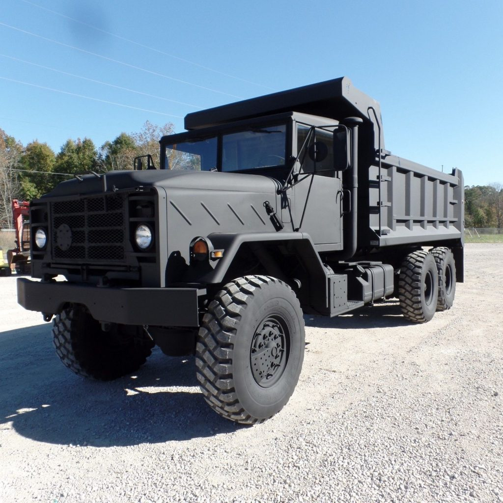 low miles 1990 AM General M934a2 dump Truck