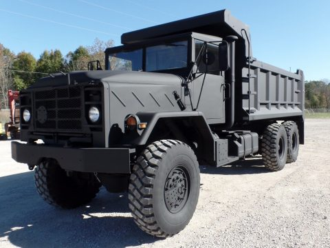 low miles 1990 AM General M934a2 dump Truck for sale