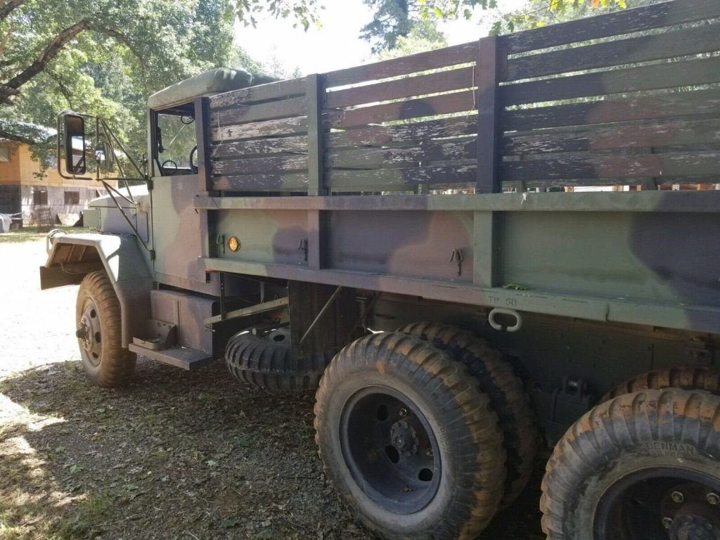 modified 1967 Kaiser Jeep Deuce & Half military truck