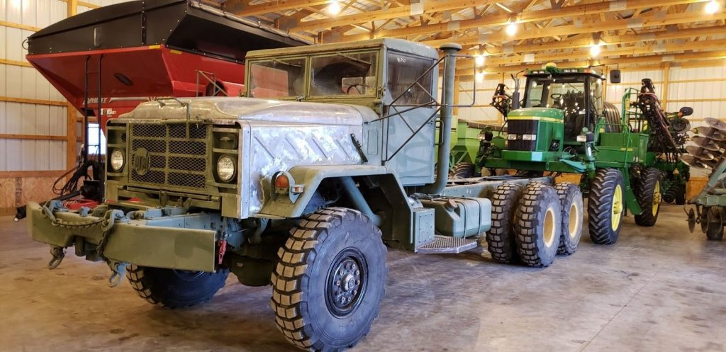 solid 1991 BMY M928 6×6 truck