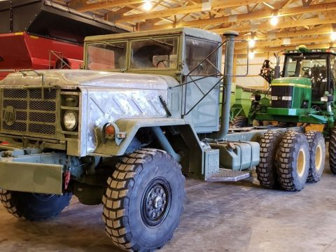 solid 1991 BMY M928 6×6 truck for sale