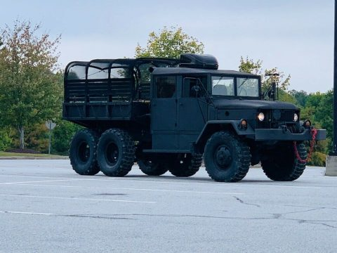 custom crew cab 1971 AM General Deuce and a half military truck for sale