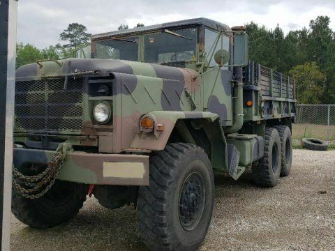 good running 1984 AM General 5 ton military truck for sale