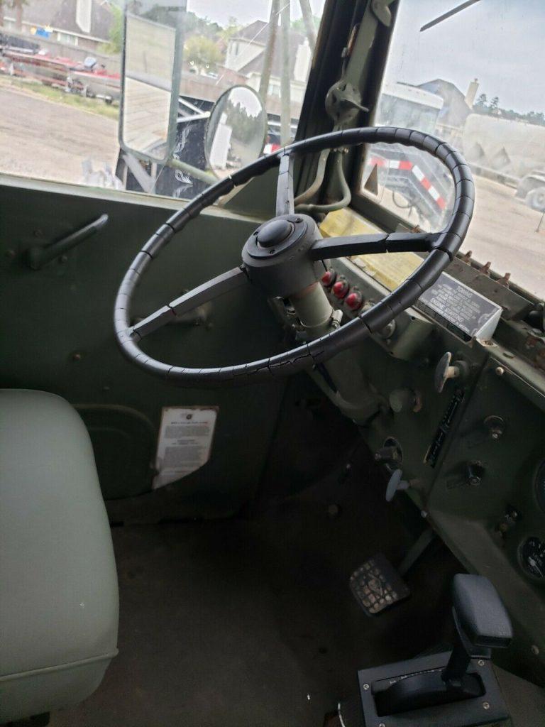 good running 1984 AM General 5 ton military truck