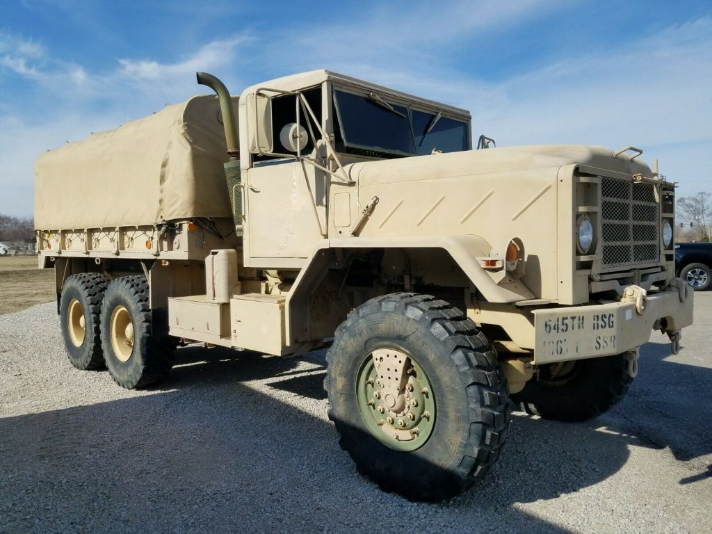 great shape 1990 AM General M923a2 truck