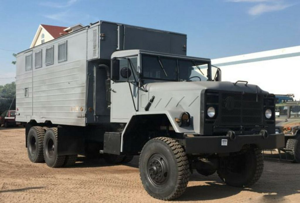 low miles 1995 AM General M934 5 Ton 6×6 military Truck