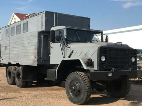 solid 1971 AM General M816 Military Wrecker Winch 5 ton