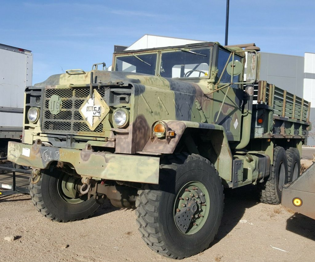 solid 1991 BMY Harsco M923a2 5 Ton 6X6 Military truck