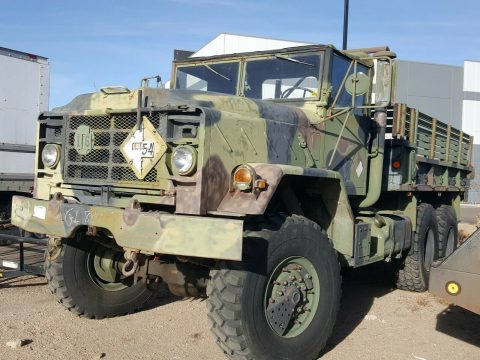 solid 1991 BMY Harsco M923a2 5 Ton 6X6 Military truck for sale