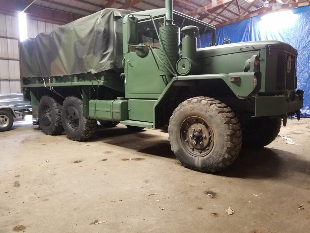 very good shape 1993 AM General M35 A3 2 1/2 Ton 6×6 military truck