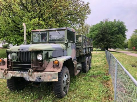 extra parts 1970 AM General M35a2 C Duece and a half 6×6 military truck for sale